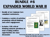 Bundle #6 - Expanded World War II - Global/World History Common Core