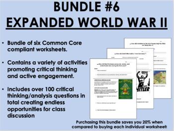 Bundle #6 - Expanded World War II - Global/World History C