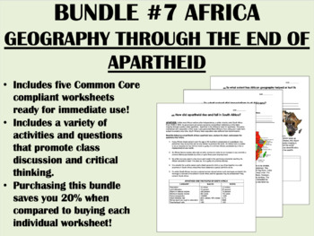 Bundle #7 - Africa - Global/World History Common Core