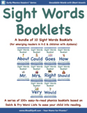 Bundle 7: Sight Word Booklets with Short Vowels(Based on D