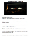French Movie Bundle - Bouquin films français - 8 French Film Worksheets