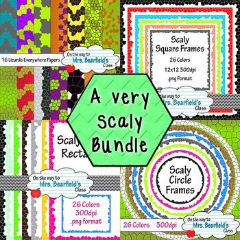 Bundle: A Very Scaly Bundle {4 sets}