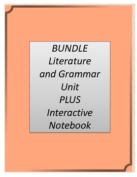 Bundle! A Week in the Woods Literature and Grammar Unit AN