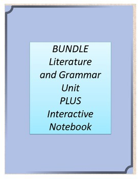 Bundle! A Wrinkle in Time Literature and Grammar Unit AND
