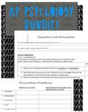 Bundle AP Psychology: Study Guides, Lessons, Vid Guides, Handouts, Lectures
