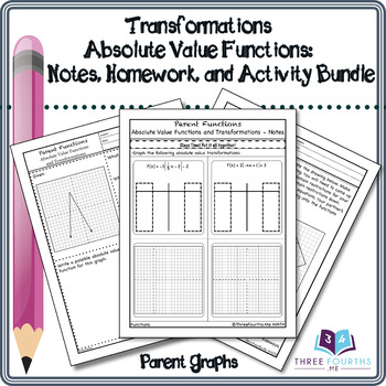 Bundle: Absolute Value Function Transformations
