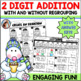 Bundle Add and Subtract 2 Digit Numbers with and without Regrouping