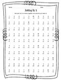 Bundle - Adding By 1 -10 Math Worksheets & Answer Keys