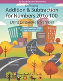 Bundle - Addition Subtract to 100 - Morning Work using Singapore Mastery Method