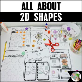 2D Shape Activities Bundle