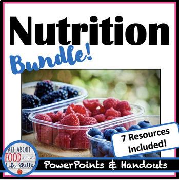 Bundle!  All About Nutrition!