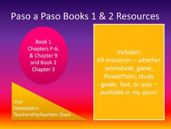 Bundle: All Paso a Paso Resources