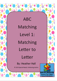 Bundle Alphabet Puzzle Match Level's 1-3