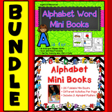 Alphabet Letter Tracing Worksheets: Alphabet Coloring Pages Mini Books
