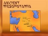 Bundle of 2 - Ancient Civilization- Mesopotamia - Unit Lesson Plan & Power Point