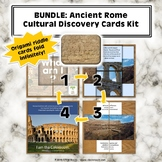 Bundle: Ancient Rome Cultural Discovery Cards 3-Pack