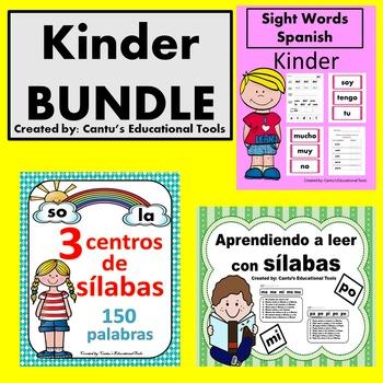 Aprendiendo a leer con silabas, Palabras de uso frequente, Silabas BUNDLE