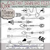 Bundle Arrows elements Svg  - Arrows SVG - Arrows clipart commercial use