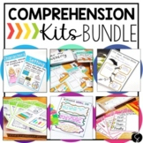 Reading Comprehension Skills Graphic Organizers BUNDLE inc