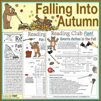 Bundle: Autumn Facts, Sports, and Activities