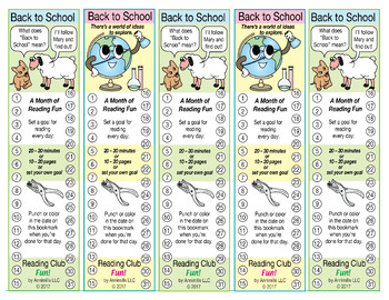 Bundle: Back to School Activity Set, Word Searches, & Reading Log & Certificate