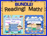 Bundle! Back to School!   Math  ELA  Reading  K - 1