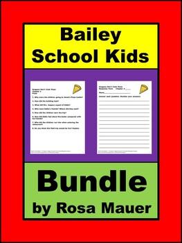 Bundle Bailey School Kids Book Units