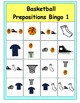 Bundle--Basketballs Everywhere and Basketball Prepositions Bingo