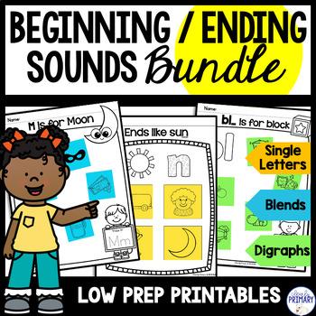 Beginning/Ending Sounds: Bundle