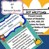 Back to School Bundle! Behavior Interventions/Plans, IEPs and Progress Reports