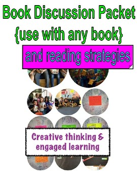 Bundle! Book Discussion Packet & Reading Strategies