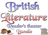 Bundle: British literature reader's theater, lessons, rubrics, more
