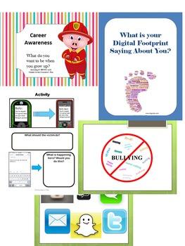 Bundle: Bully, Career, Digital Safety. SALE
