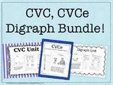 Bundle: CVC, CVCe, and Digraph Units!
