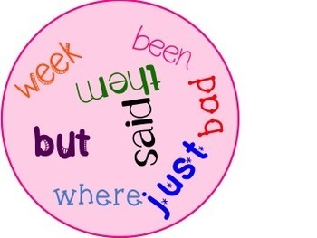 Bundle: Can You Find It? Sight Word Game Lists 1-5