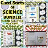 Bundle: Card Sorts of Science