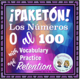 Bundle! Carrusel: De Marcha con los # 0 al 100 + Vocabular