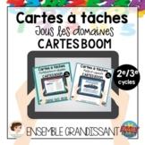 Bundle: Cartes à tâches mathématiques - Cartes BOOM