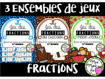 Bundle - Casse-têtes - Fractions 2e cycle (Fractions Puzzle)