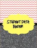 *Bundle* Chevron & Glitter Student Data/Organization & Sub