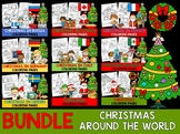 Bundle - Christmas Around the World Coloring Pages - The Crayon Crowd