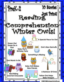 Bundle Christmas Winter reading comprehension passages and questions