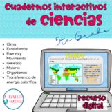 Bundle Ciencias 5to Grado Cuadernos Interactivos Digitales