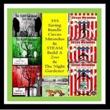 Bundle Circus Mirandus, The Night Gardener, STEAM Build A Zoo SPED/ID/AUTISM/ESL