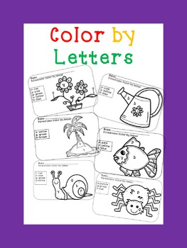 Bundle: Color by letter