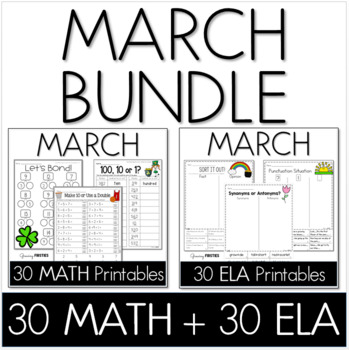 March Math Homework Teaching Resources | Teachers Pay Teachers