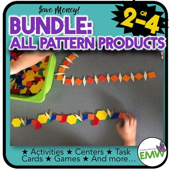 Collection of four pattern activities