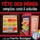 Bundle (Comptines & activités pour 5 thèmes) French Poems, mots fréquents
