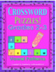 Bundle Crossword Puzzles Math and Grammar Game Task Cards Centers