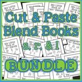 Cut & paste mini books: s, r, & l blends - Speech therapy